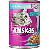 Whiskas Wet Meal Adult Cat Food Tuna, 400 G Can