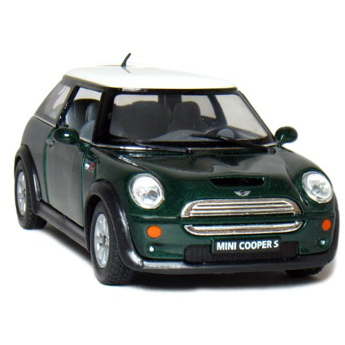 "5"" Mini Cooper S 1:28 Scale (Green)"