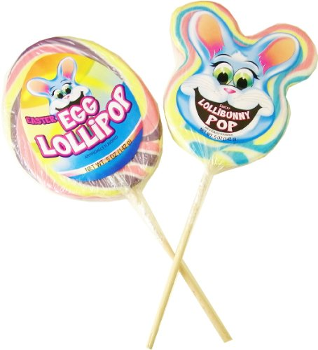 Easter Egg and Lollibunny Lollipops