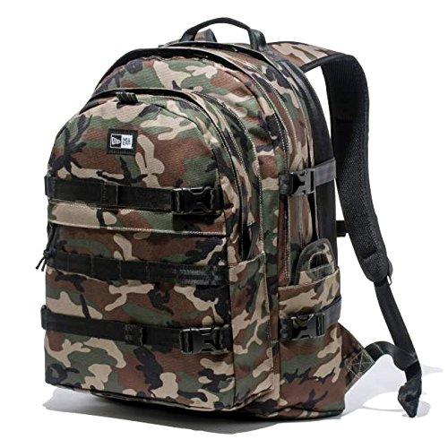 (NEW ERA) ニューエラ NEW ERA リュックサック Carrier Pack 【11166112】WoodLandCamo -