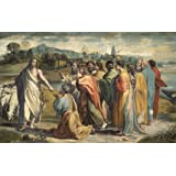 Christ's Charge to Peter, by Raphael (V&A Custom Print)