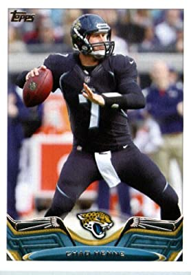 2013 Topps Football Card #139 Chad Henne - Jacksonville Jaguars - NFL Trading Cards