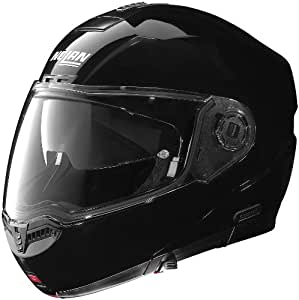 Nolan Solid N104 Modular On-Road Motorcycle Helmet - Black / Medium