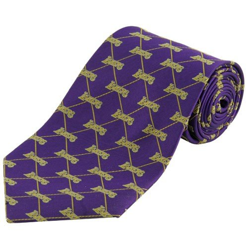 Los Angeles Lakers Purple Woven Tie