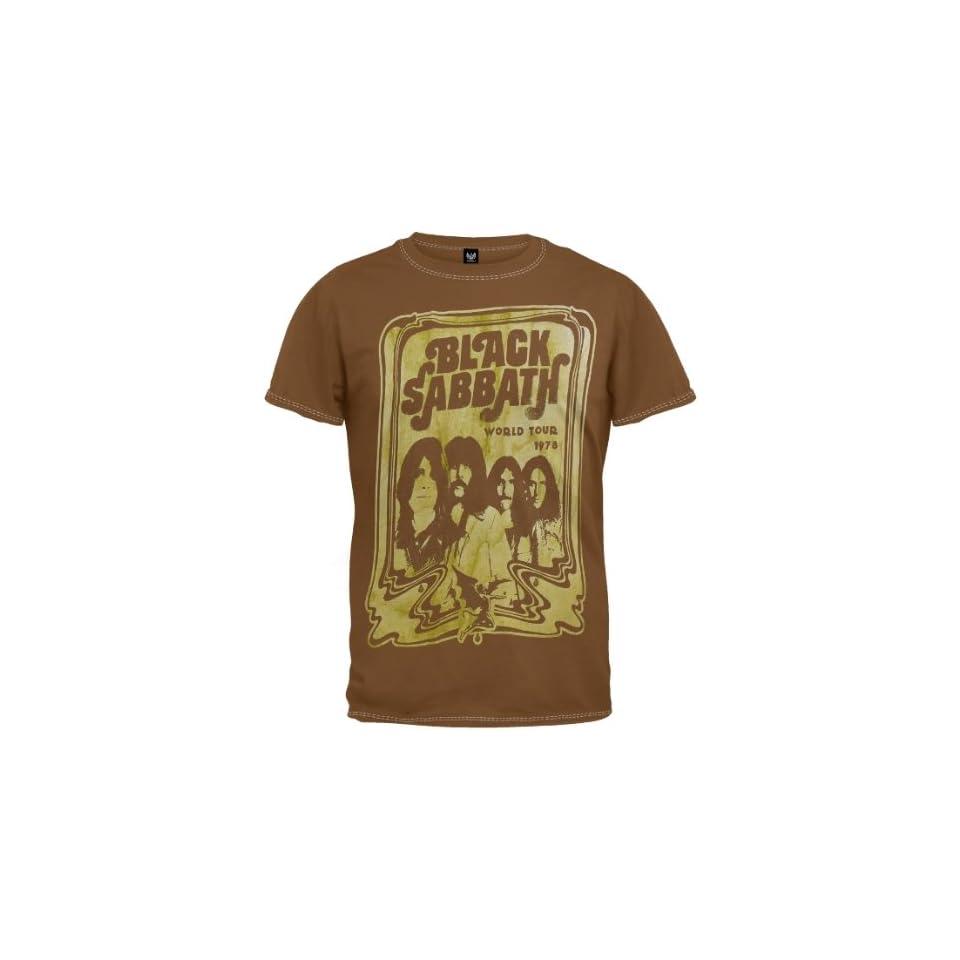 Black Sabbath   World Tour T Shirt
