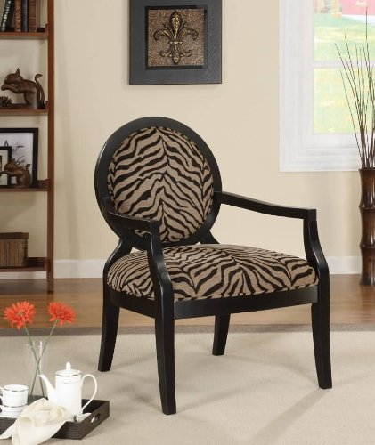 Sensational Coaster 900213 Louis Style Accent Chair With Exposed Wood Ncnpc Chair Design For Home Ncnpcorg