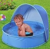 Pool POP UP Planschbecken mit Dach Kinderpool ca.90cm Durchmesser