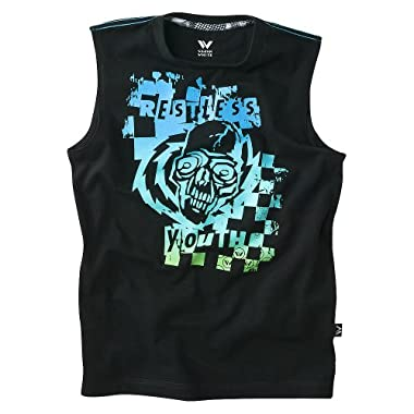 Product Image Shaun White Boys' Sleeveless Graphic Muscle Tee - Black