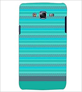PrintDhaba Tribal pattern D-1857 Back Case Cover for SAMSUNG GALAXY ON 7 (Multi-Coloured)