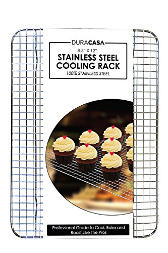 Baking Rack - Cooling Rack - Stainless Steel 304 Grade Roasting Rack - 8.5