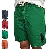 (ポロ ラルフローレン) Polo Ralph Lauren 《7 Solid Palm Island Trunk:ビッグポニー 刺繍 スイムウエア 水着... [並行輸入品]
