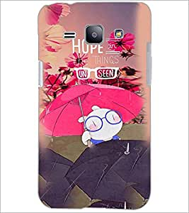 PrintDhaba Quote D-3887 Back Case Cover for SAMSUNG GALAXY J1 (Multi-Coloured)