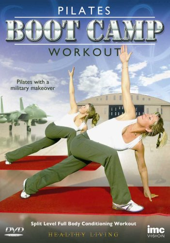 Pilates Bootcamp Workout - Full Body Combat Conditioning Workout - Healthy Living Series [DVD]