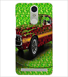PrintDhaba Car D-3421 Back Case Cover for LENOVO K5 NOTE (Multi-Coloured)