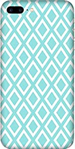 Blue Diamond Printed Back Cover Case For Apple-iphone-7