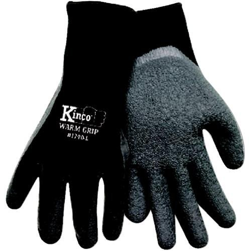 kinco-1790-xl-mens-warm-grip-thermal-lined-latex-coated-gloves-x-large-black-gray-by-kinco-internati