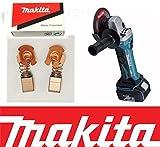 Makita CB430 Carbon Brushes BGA450 BGA452 BJS160 BJS161 BSS501RFE, BSS501Z M8