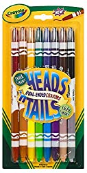 Crayola Heads 'N Tails Markers, Multi Color