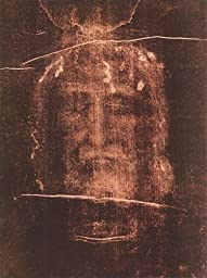 22W x 26H Shroud Of Turin by - Stretched Canvas w/ BRUSHSTROKES
