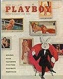 Playboy Magazine January 1958