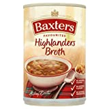 Baxters Traditional Highlander's Broth Soup 6x400g