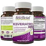 RESVERATROL1450 - 90day supply, 1450mg per Serving of Potent Antioxidants & Trans-Resveratrol, Promotes Anti-Aging, Cardiovascular Support, Maximum Benefits