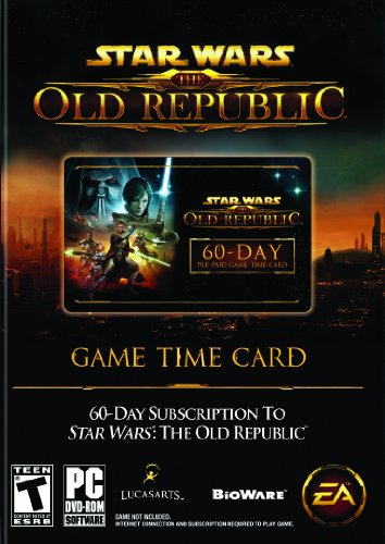 Star Wars: The Old Republic 60-Day Pre-Paid Time Card - Pc front-313464