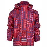 Acquista LEGO Wear - Cappotto Impermeabile a pois con cappuccio, manica lunga, bambina Rosa (Pink (356 BRIGHT RED)) 140 cm