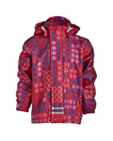Lego Wear - Vtement de Pluie - Fille - Rouge (356 Bright Red)