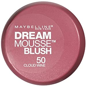 Maybelline New York Dream Mousse Blush, 50 Cloud Wine, 0.2 Ounce