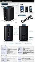 サンワダイレクト NFCワイヤレススピーカー Bluetoothスピーカー バッテリー・マイク内蔵 ワンセグ音声対応 スピーカー 400-SP046BK