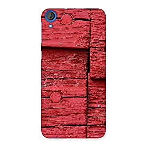 Delighted Red Kil Wood Back Case Cover for HTC Desire 820
