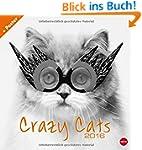 Crazy Cats Broschurkalender 2016