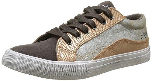 KaporalAmel - Sneaker Donna , Grigio (Gris (Gris Argent)), 40