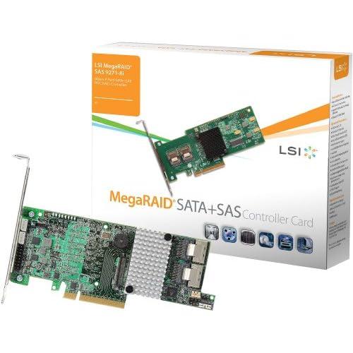 LSI-MegaRAID-SAS-9271-8i-KIT-8-Port-6Gbps-SATA-SAS-1GB-DDR3-PCI-E-3-0