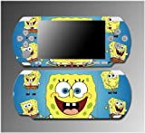 Spongebob Squarepants Christmas Gift Boy Girl Game Vinyl Decal Sticker Cover Skin Protector #8 for Sony PSP Slim 3000 3001 3002 3003 3004 Playstation Portable