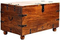 Art of Jodhpur Bar Cabinet (Dark Walnut)