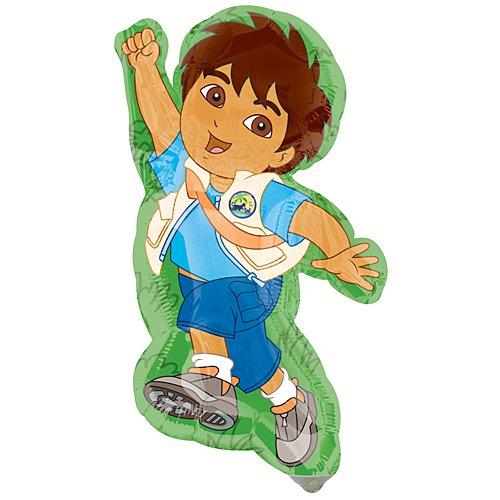 Diego Mini Shaped Birthday Mylar Balloon by Disney - 1
