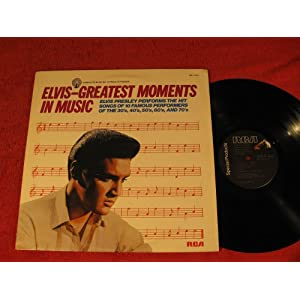 Elvis Presley - Elvis: Greatest Moments In Music; Hit Songs Of 10 Famous Performers Of The 30�