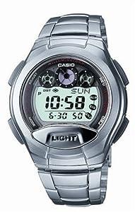 Casio - W-755D-1AVES - Montre Homme - Multifonction - Quartz digitale - Bracelet acier