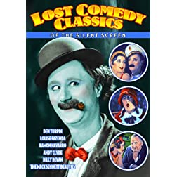 Lost Comedy Classics of The Silent Screen (Silent)