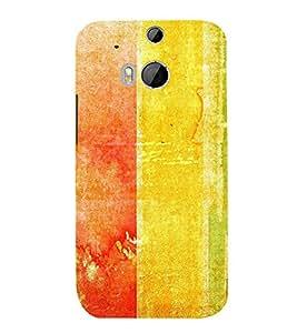 EPICCASE great splash Mobile Back Case Cover For HTC One M8 (Designer Case)