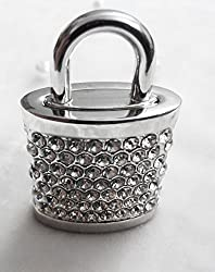 Anyusb030 Fancy Jewellery Studded Lock Shape Pen Drive (8 Gb) + Exclusive Hand Made Gift Box