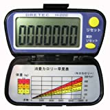 DRETEC 1000万歩累計機能付歩数計 ミリオンウォーカー ブラック H-222BK