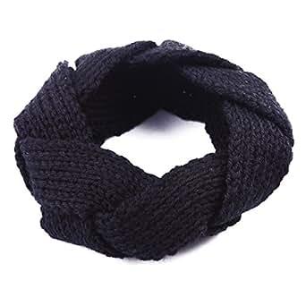 Hde Women S Crochet Headband Braided Weaved Twist Knit Ear