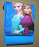 CJB Frozen Shoulder Bag Anna Elsa Sister Flip Blue (US Seller)