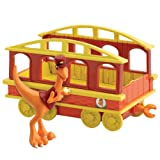 51yNrLDVyrL. SL160  Learning Curve Dinosaur Train   Collectible Conductor with Train Car