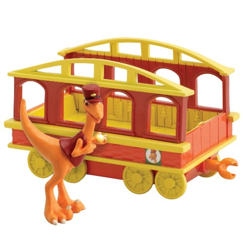 Learning Curve Dinosaur Train - Collectible Conductor with Train Car