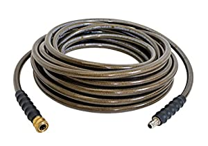 Simpson 41028 3/8-Inch by 50-Foot 4500 PSI Cold Water Replacement/Extension Hose for Gas Pressure Washers