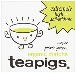 Tea Pigs Organic Matcha Super Power Green Tea 30 G